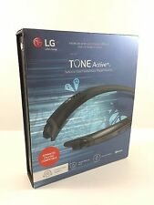 LG  TONE ACTIVE+  - HBS-A100 Bluetooth Stereo Headset (Black/Grey)