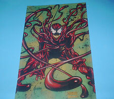 MARVEL COMICS CARNAGE VILLAINS POSTER PIN UP JUSKO