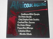 AFRICAN MUSIC  - LP Compilation auf Vertigo
