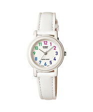 CASIO LQ-139L-7B Standard Analog Leather Strap White