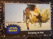 Journey to Star Wars: The Force Awakens #95 Escaping on Foot BLACK Starfield