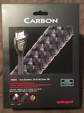 Audioquest Carbon HDMI Cable with Ethernet, 3D and 4K Ultra HD - 2M