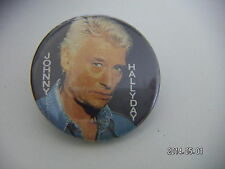 JOHNY HALLIDAY MUSIC PICTURE BADGE