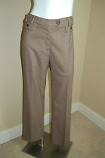 CONRAD C Collection Stretch Houndstooth Print Pants~Size 8~Inseam 31""