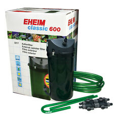 Eheim Classic 2217 Aquarium Canister Filter W/Media  (for up to 159 gallon tank)