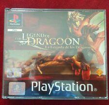 THE LEGEND OF DRAGOON PAL ESPAÑA PARA PLAYSTATION 1 PS1 PS2 PS3 PSX DRAGOONS
