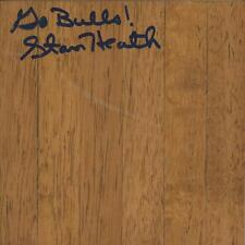 Stan Heath Signed 6x6 Floorboard South Florida Go Bulls Inscription
