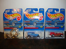 Hot Wheels--Lot Of 3--Rodzilla #991--1932 Ford #996--Jaguar D-Type #997--Lot #11