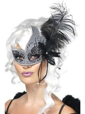 Masquerade Dark Angel Evil Adult Mens Halloween Fancy Dress Costume MASK 27856