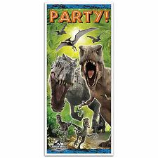 "60"" Jurassic World Park Dinosaurs Birthday Party Door Poster Banner Decoration"