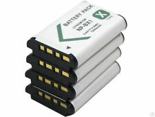 new 4pcs NP-BX1 Battery and Dual Charger for HDR-AS15 MV1 RX1 RX100 HX50 AS15B