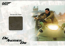 James Bond Archives 2014 JBR37 Relic Prop Card Hovercraft Seat 136 of 500 Smooth
