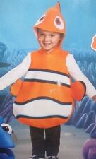 DISNEY PIXAR NEMO CHILD SOFT FOAM COSTUME  SIZE 6 SHIRT & PANTS NOT INCLUDED NEW