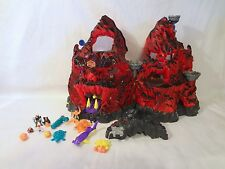 Mighty Max Trapped In Skull Mountain 100% Complete Set Playset Bluebird Toys