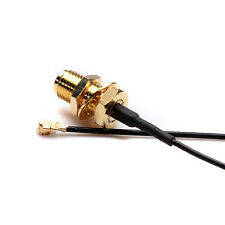 15cm U.FL/IPX to RP-SMA Female Antenna Pigtail Jumper Cable