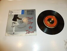 "BRYAN FERRY - Don't Stop The Dance - 1985 UK 2-track 7"" Vinyl Single"