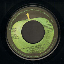 "GEORGE HARRISON ‎– Give Me Love (1973 DUTCH APLLE VINYL SINGLE 7"")"