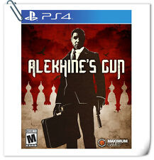 PS4 Alekhine's Gun SONY PLAYSTATION Games Maximum Action