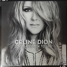 Celine Dion - Loved Me Back To Life (CD 2013 Columbia Music) VG++ 9/10