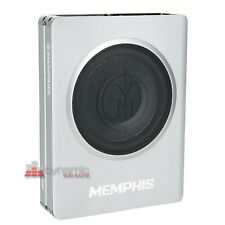 "Memphis Audio SA108SP 8"" Powered Underseat Loaded Amplifier Subwoofer Enclosure"