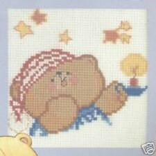 "Time For Bed - Forever Friends Cross Stitch Kit - 3.25"" x 3.25"" - Anchor"