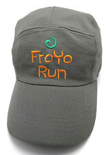 FROYO RUN five panel style lightweight gray adjustable cap / hat