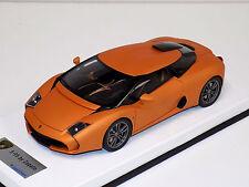 1/18 Looksmart MR Lamborghini 5-95 Zagato Matt Met Orange Titanium wheel leather