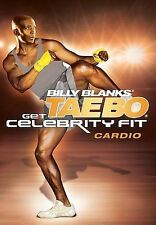 Billy Blanks GET CELEBRITY FIT CARDIO (DVD) TAE BO taebo workout sculpted NEW