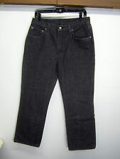 vtg Ralph Lauren Polo Jeans Black Wash Denim classic straight leg sz 31x30 EUC!