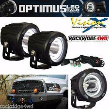VISION X OPTIMUS ROUND HALO INTEGRATED LED KIT *PAIR* 15 DEGREE BEAM PATTERN