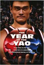 THE YEAR OF THE YAO Movie POSTER 27x40 Shaquille O'Neal Colin Pine Ming Yao