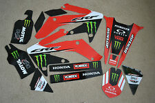 TEAM HONDA  GRAPHICS HONDA CRF250X  04 05 06 07 08 09 10 11 12 13 14 15 16
