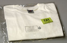 New Boys/ Girls Jerzees Zt180 White T-Shirt age 9-10 (tag741)