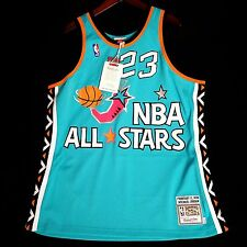 100% Authentic Michael Jordan Mitchell Ness 1996 96 All Star Game Jersey 48 XL