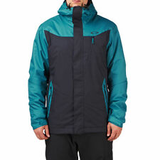 NEW Oakley Minaret Men's Jacket Ski Snowboard Size XXL 2XL Blue MSRP $240