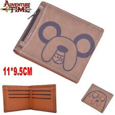 Adventure Time JAKE Wallet Purse With Inserted Bag Holder Layer PU Zipper