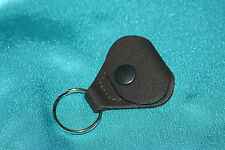 Perri's Leathers Brown Leather Pick Holder & Key Chain, PLS-6674