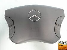 2004 MERCEDES S430 W220 DRIVER SRS STEERING WHEEL AIR BAG W/ CONTROL BUTTONS