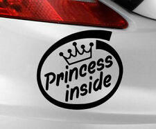 Princess Sticker Inside Car Decal Vinyl Funny Window Jdm Bumper Baby Euro Board