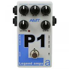 New AMT Electronics P1 guitar preamp (emulates Peavey 5150). Distortion pedal