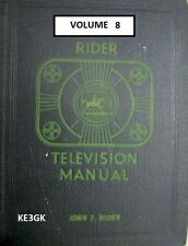 Riders Television Manual * Volume 8 * CDROM * PDF * Riders TV Schematics