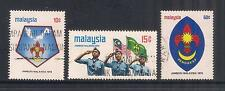 (UXMY028) MALAYSIA 1974 Malaysian Scout Jamboree fine used set