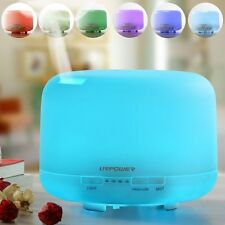 URPOWER 500ml Aromatherapy Essential Oil Diffuser Ultrasonic Air Humidifier NEW