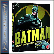 BATMAN ANIMATED COLLECTION - DC COMICS PREMIER  **BRAND NEW BLU-RAY REGION FREE*