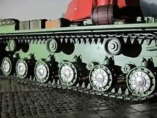Radkappe Laufrollen Abdeckung RC Panzer KV1 KV-1 KW1  Metall Zubehör Umbau 1/16