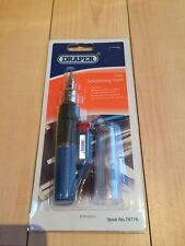 DRAPER 78774 SELF IGNITING REFILLABLE BUTANE LIGHTER GAS SOLDERING IRON TORCH