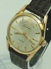 Mens vintage 1960s Felca Airmaster gold plated Swiss made 21 Jewel winding