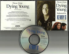KENNY G Dying Young w/ JULIA ROBERTS PICTURE PROMO DJ CD Single 1991 USA