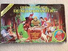 Dungeons & Dragons Quest For The Dungeon Master TSR board game