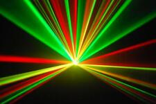 ULTIMATE COLOUR RGY RAVE LASER  RED GREEN YELLOW DISCO LIGHT DJ lazer lazor